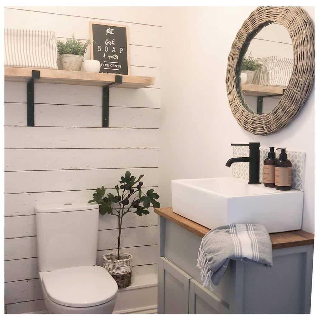 Bathroom Countertop Ideas -ducksnestinteriors