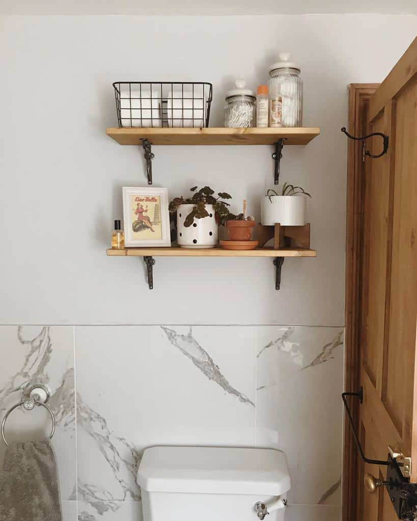 Bathroom Floating Shelves Ideas -numbertwentytwosomerset