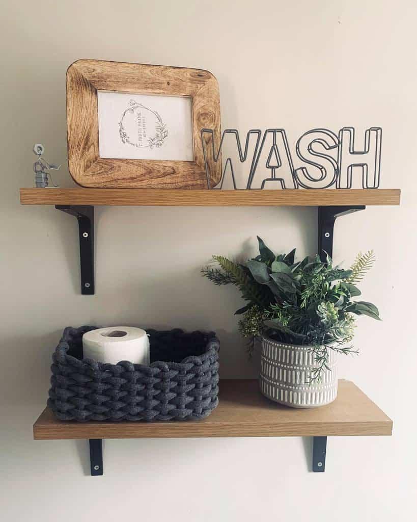 Bathroom Floating Shelves Ideas -theplacewherewecallhome