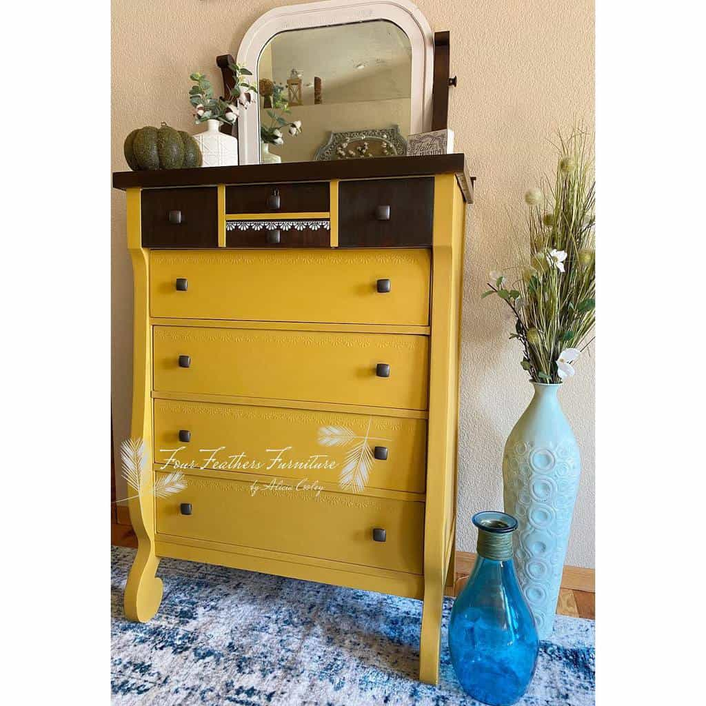 Bright Color Chalk Paint Furniture Ideas -fourfeathersfurniture