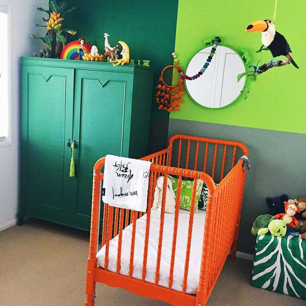 Bright Color Chalk Paint Furniture Ideas -fullhouse.designs