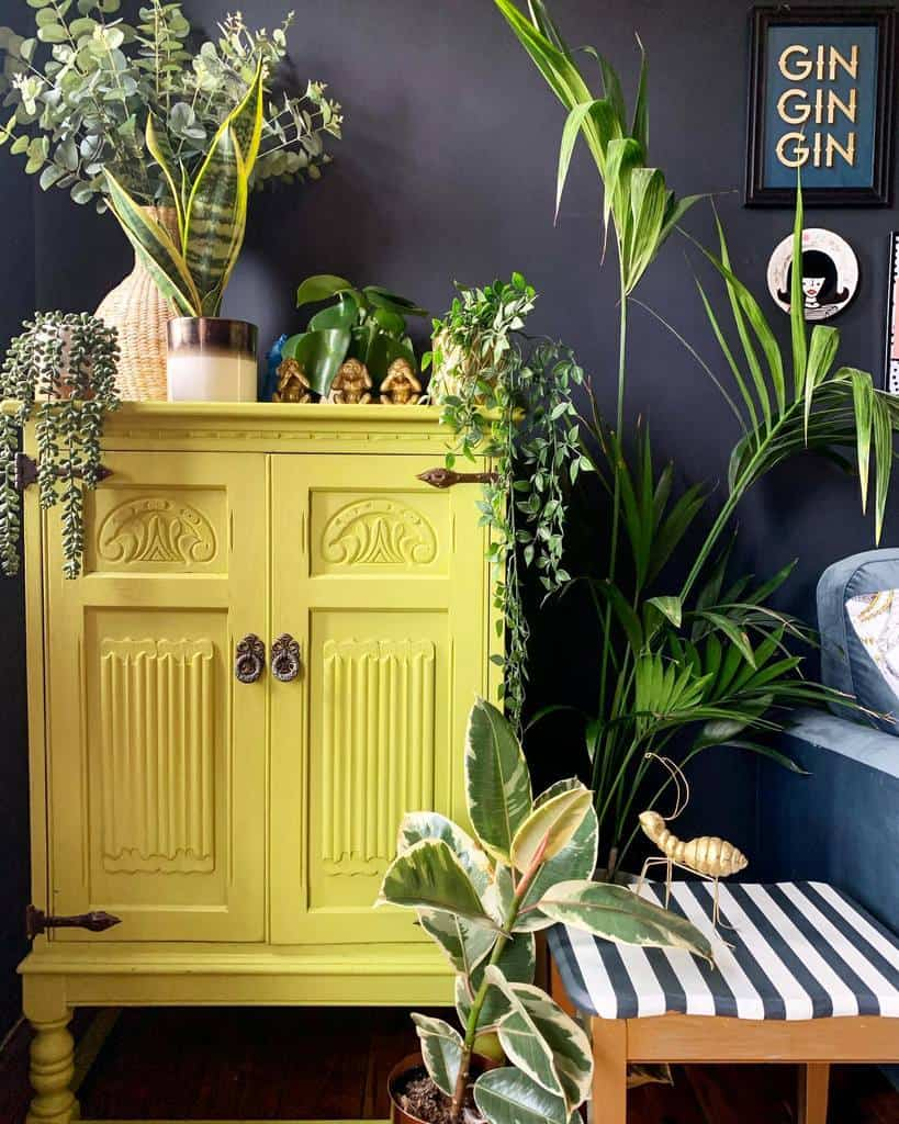 Bright Color Chalk Paint Furniture Ideas -haighyshomeinyorkshire