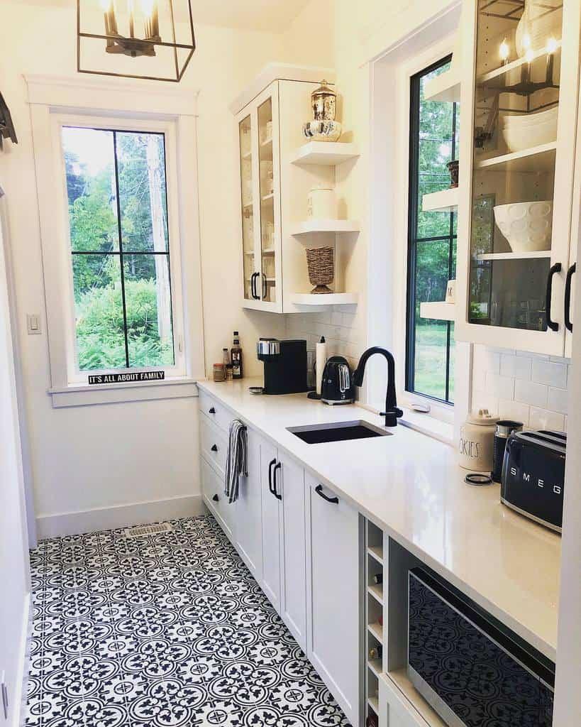 Cabinet Kitchen Shelf Ideas -farmhouse_on_bennett