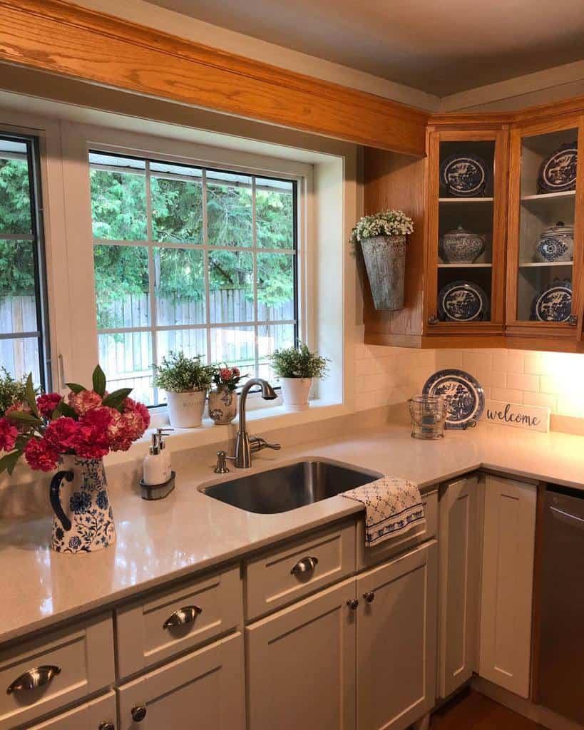 Cabinet Kitchen Shelf Ideas -mygeraniumcottage