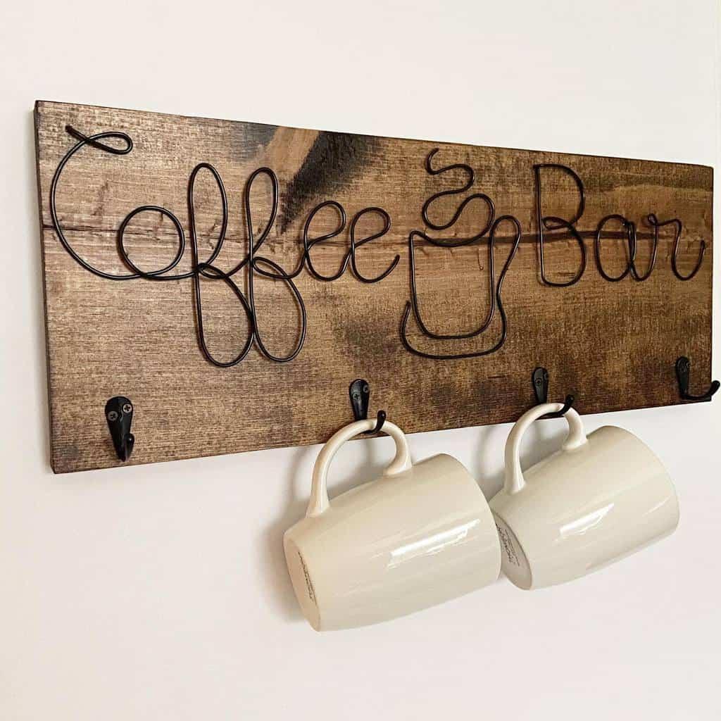 Coffee Wood Sign Ideas -eminicreations