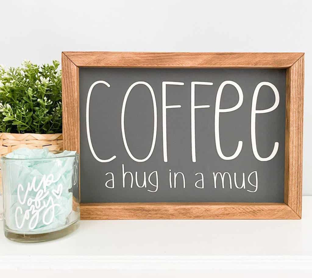 Coffee Wood Sign Ideas -kb.hdecorco