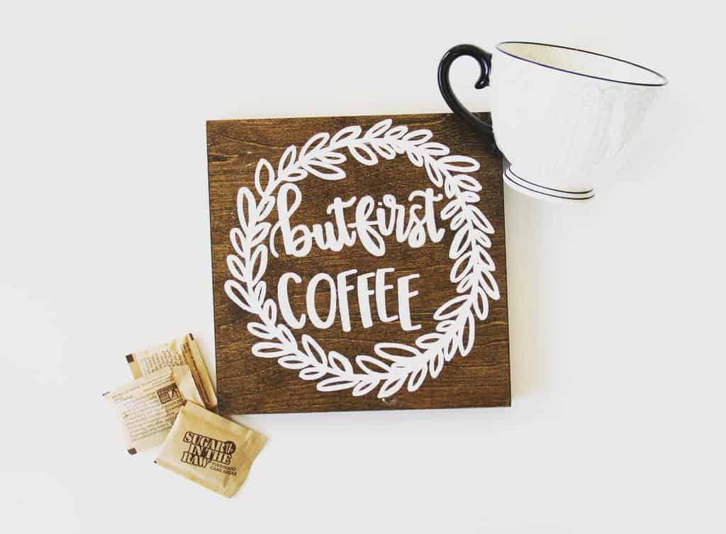 Coffee Wood Sign Ideas -koogskrafts