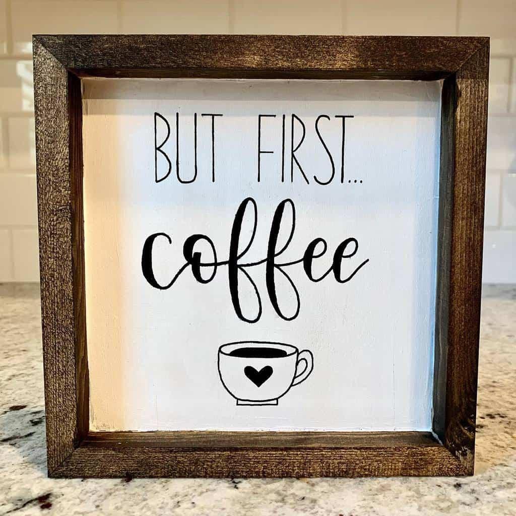 Coffee Wood Sign Ideas -sabsigns