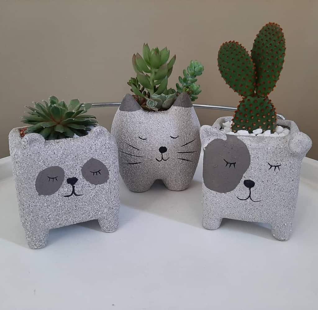 Cute Pots for Succulents Garden Ideas -flor.amorosa