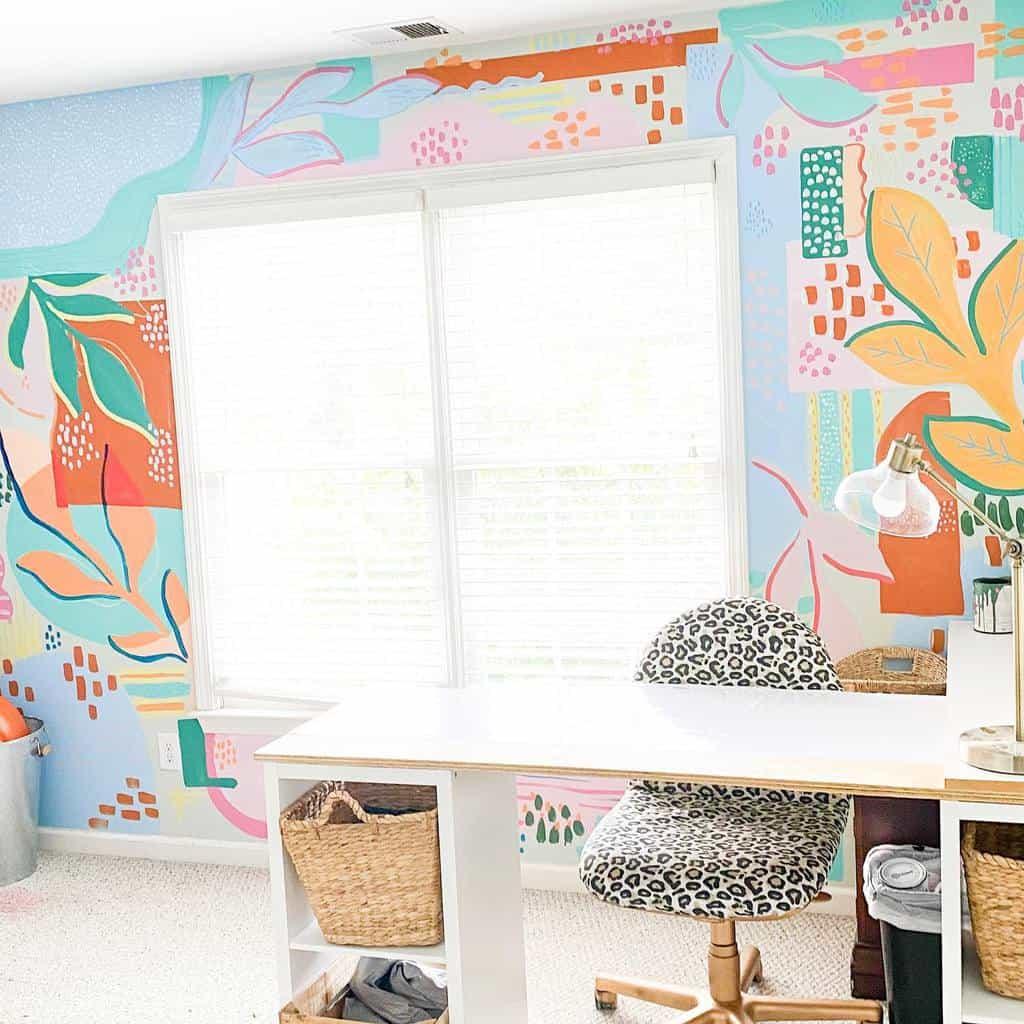 DIY Art Studio Ideas -ambertonway