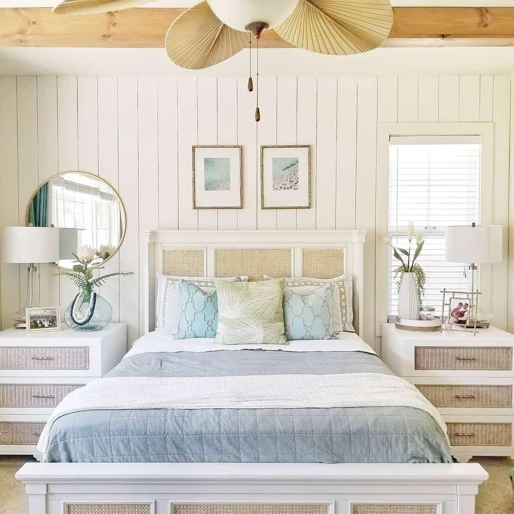 DIY Coastal Bedroom Ideas -a_house_is_built