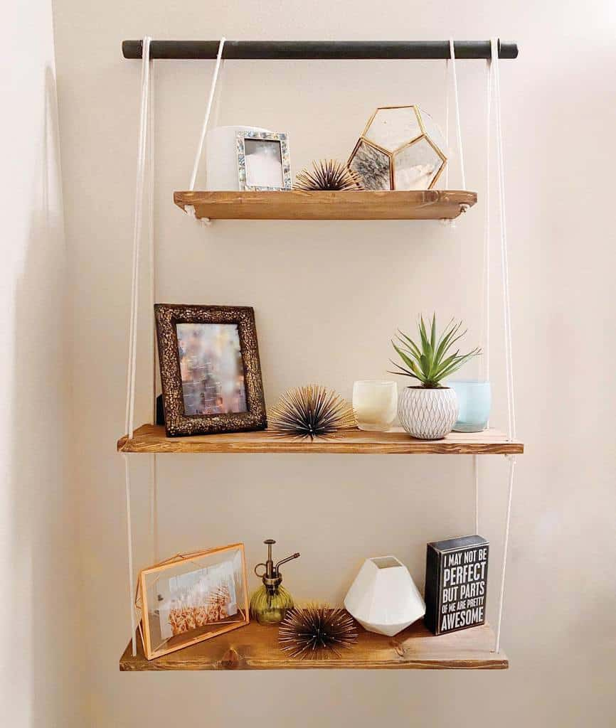 DIY Floating Shelves Ideas -iansfurniture