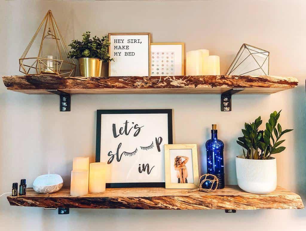 DIY Floating Shelves Ideas -inspiredlivingwithshanna