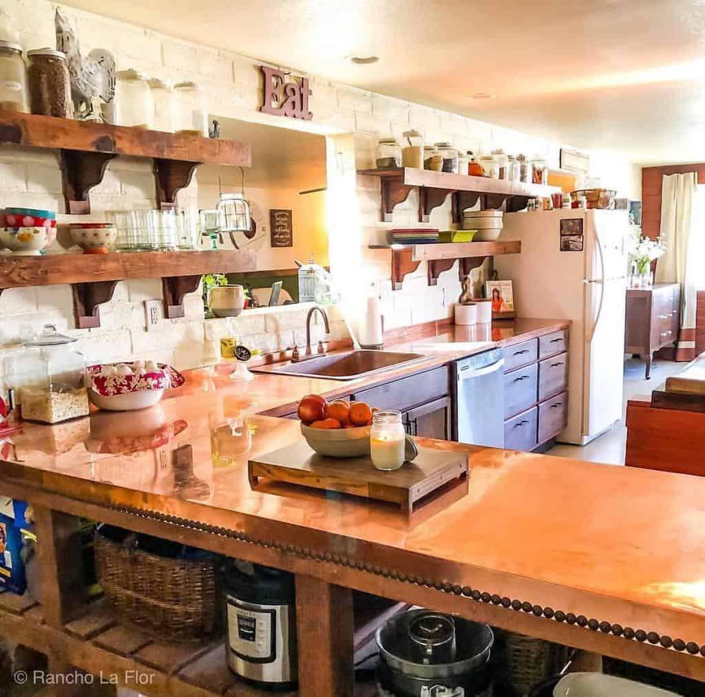 DIY Floating Shelves Ideas -rancholaflor