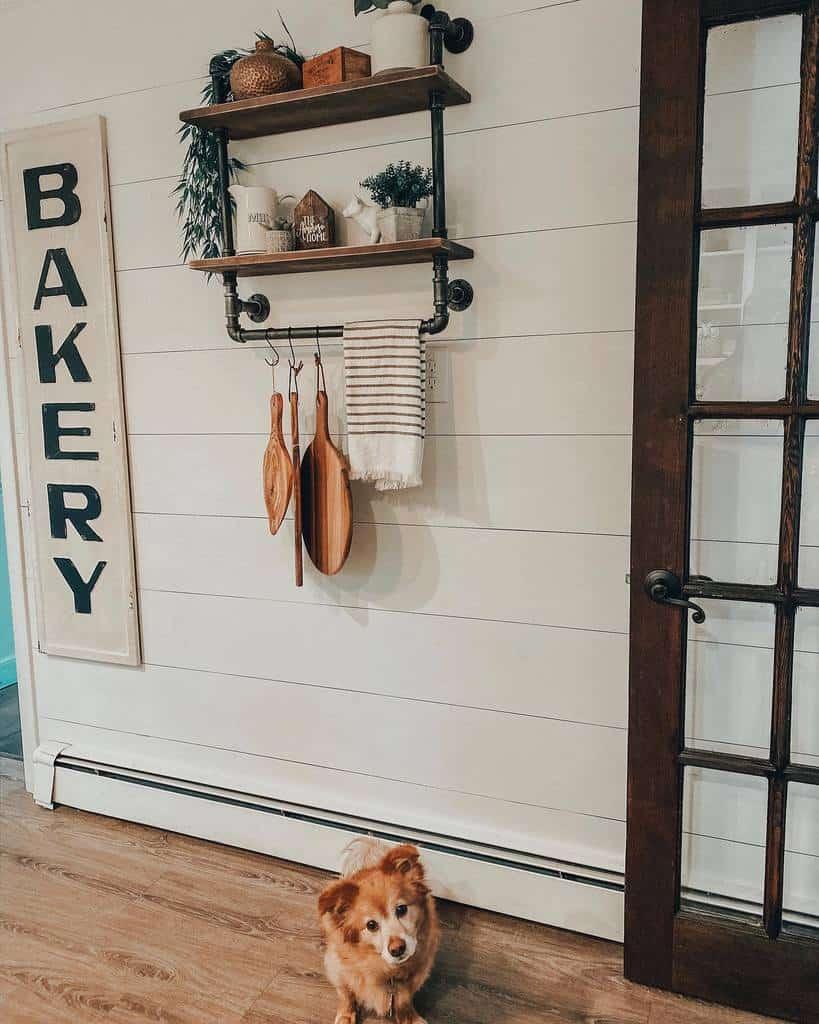 DIY Kitchen Shelf Ideas -anteaamoroso