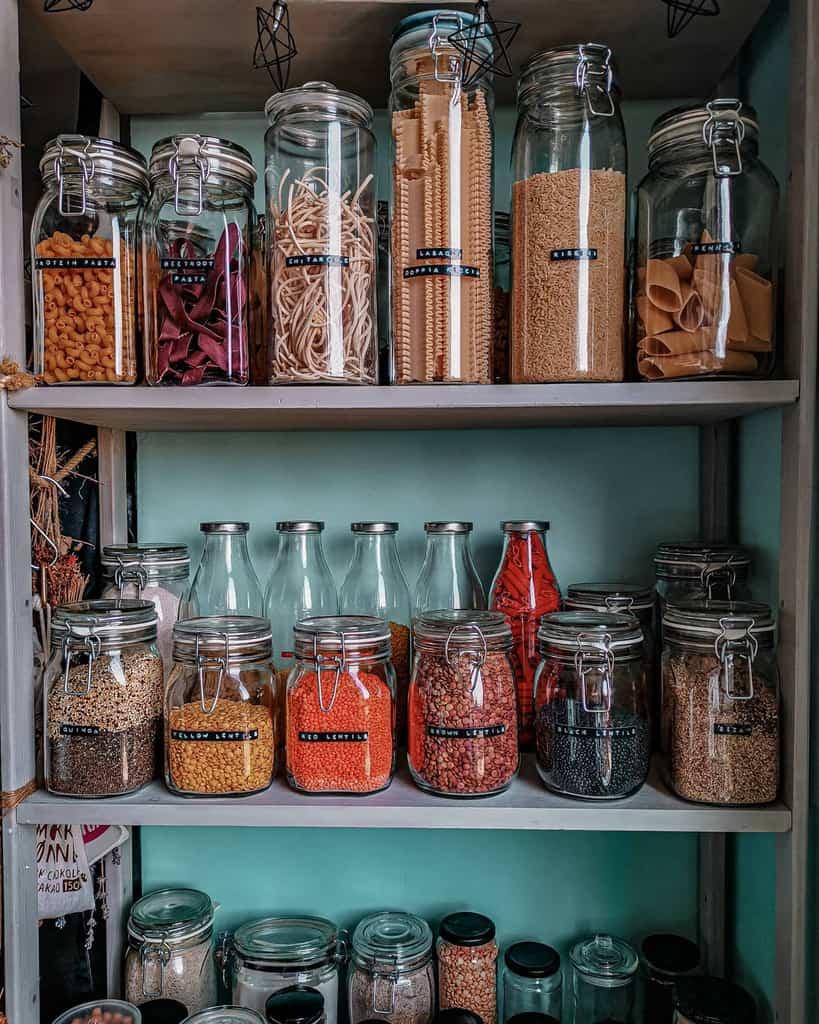 DIY Kitchen Shelf Ideas -lucididit