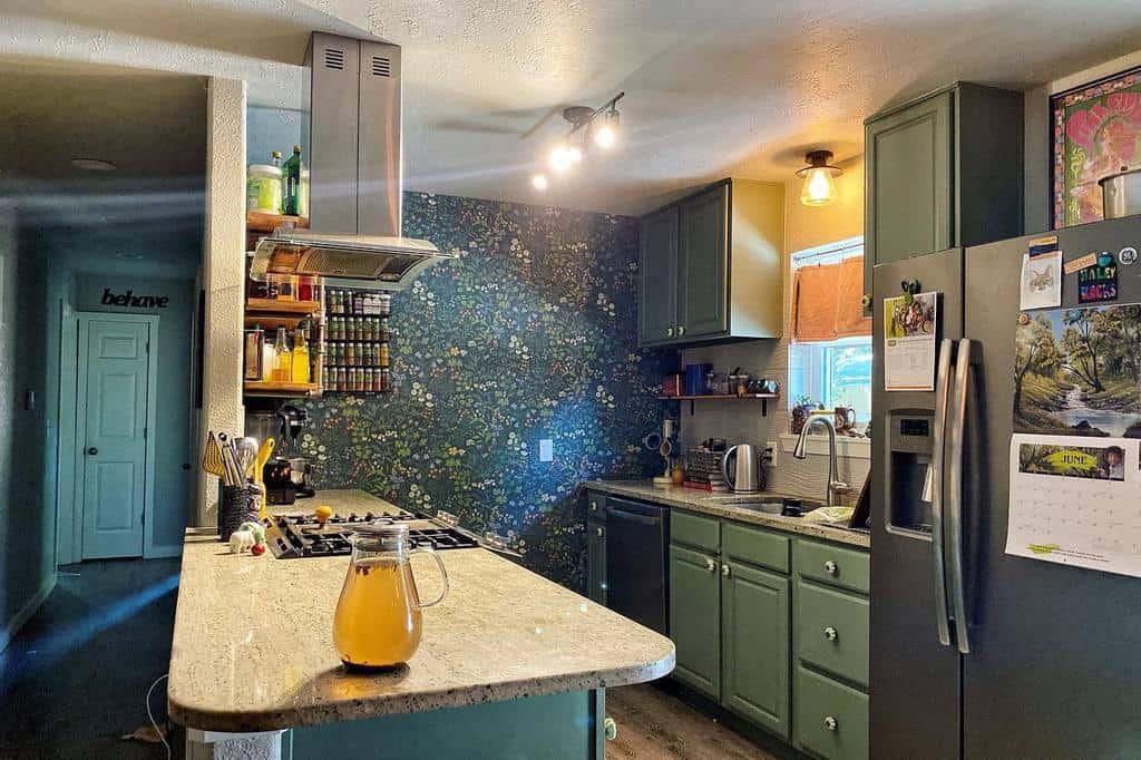 DIY Kitchen Shelf Ideas -plantbasedmagnetism