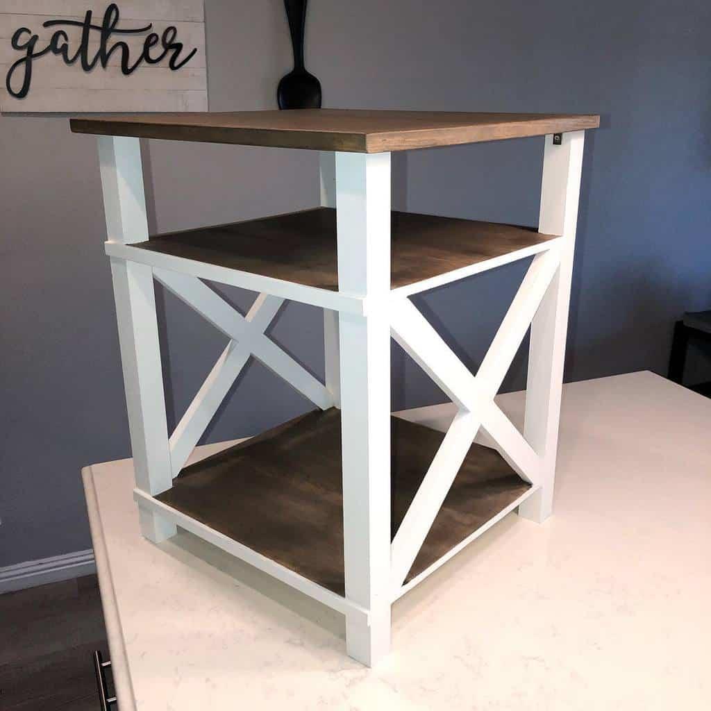 DIY Nightstand Ideas -wendy.crafts