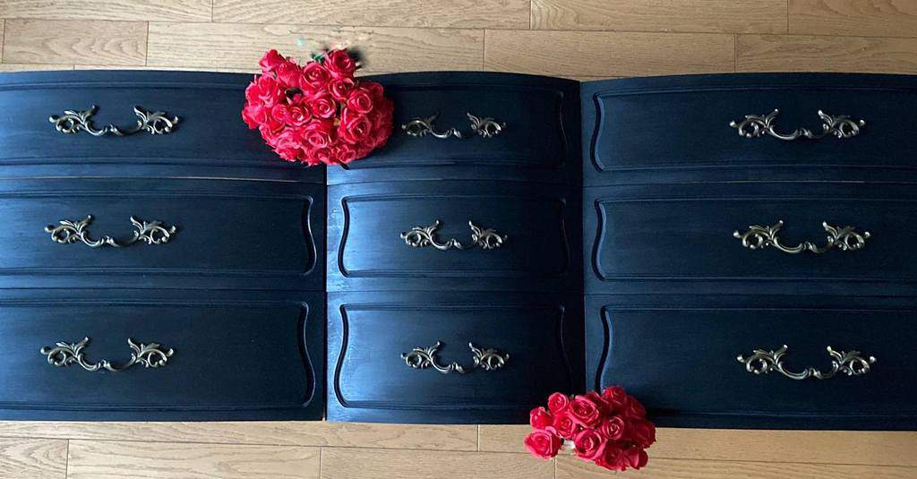 Dark Colors Chalk Paint Furniture Ideas 2 -audreysshabbychicboutique