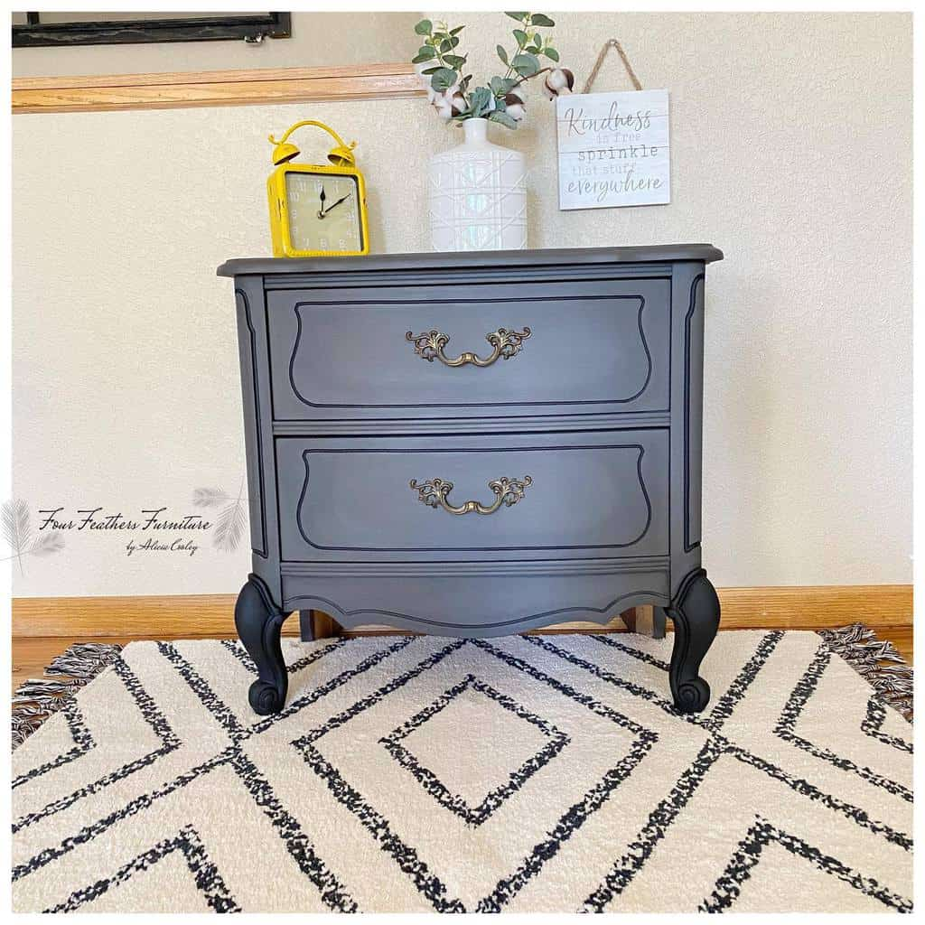 Dark Colors Chalk Paint Furniture Ideas -fourfeathersfurniture