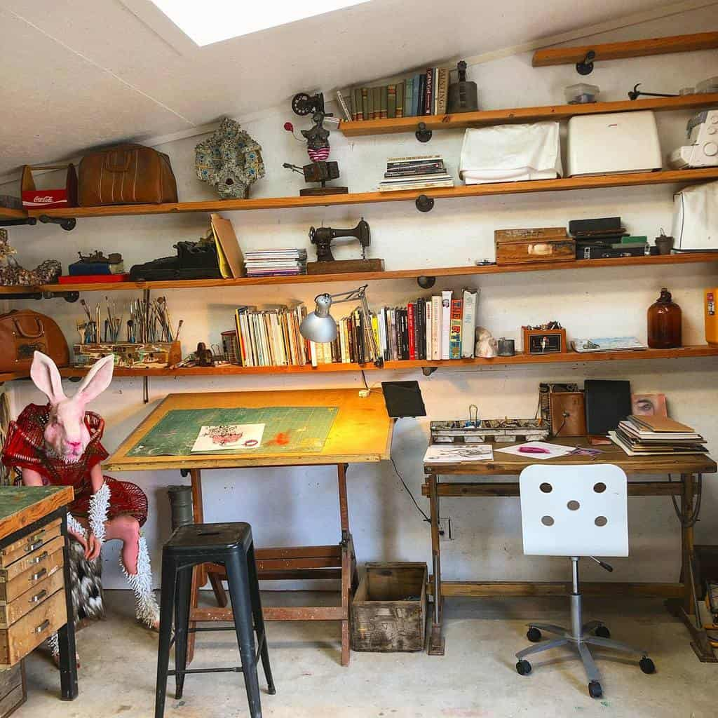Decor Art Studio Ideas -artbytulio
