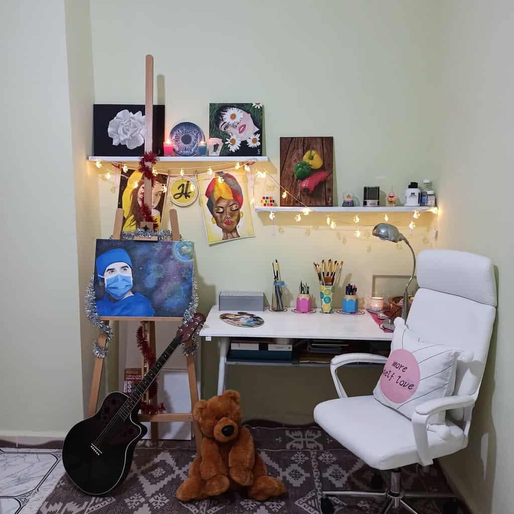 Decor Art Studio Ideas -hadjer_djebbouri_art