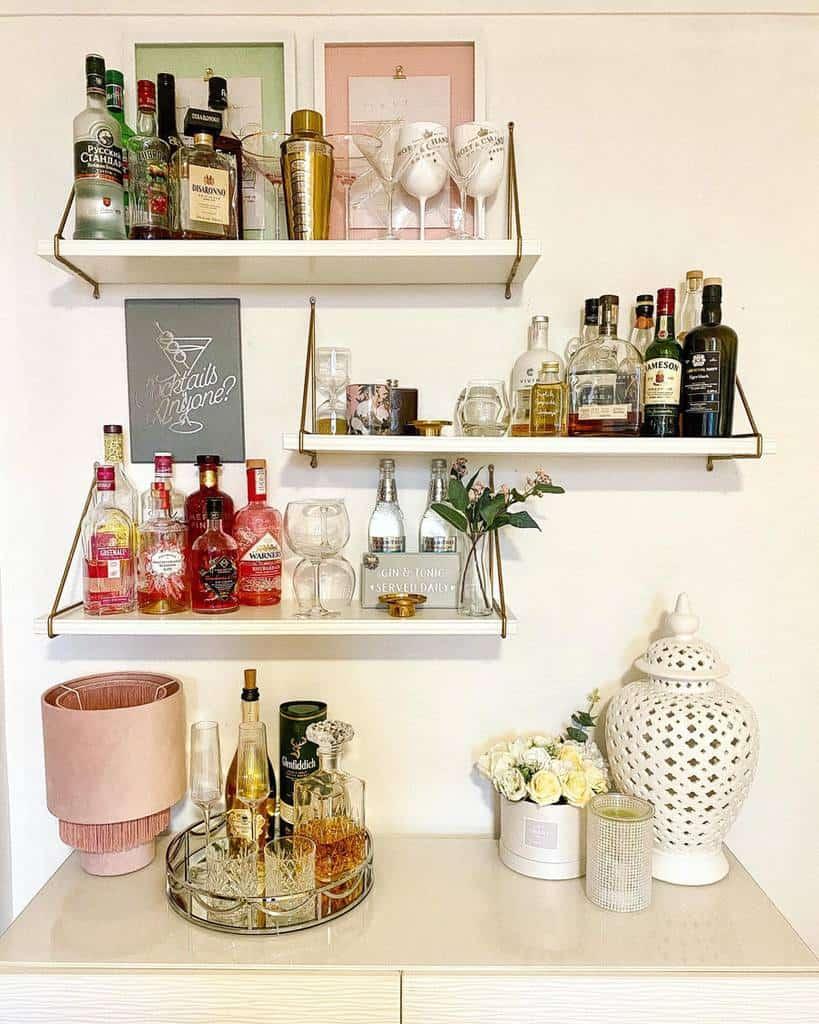 Decor Floating Shelves Ideas -livs.home
