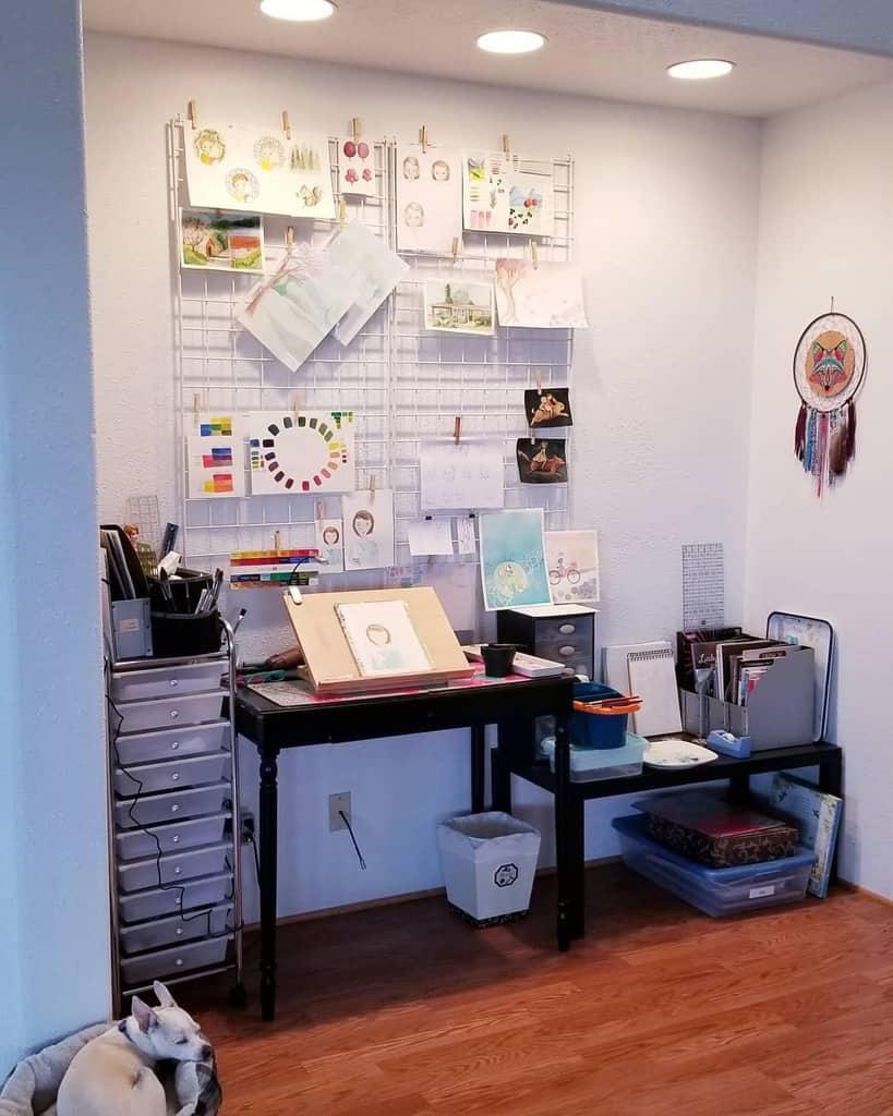 Desk Art Studio Ideas -jenyarose