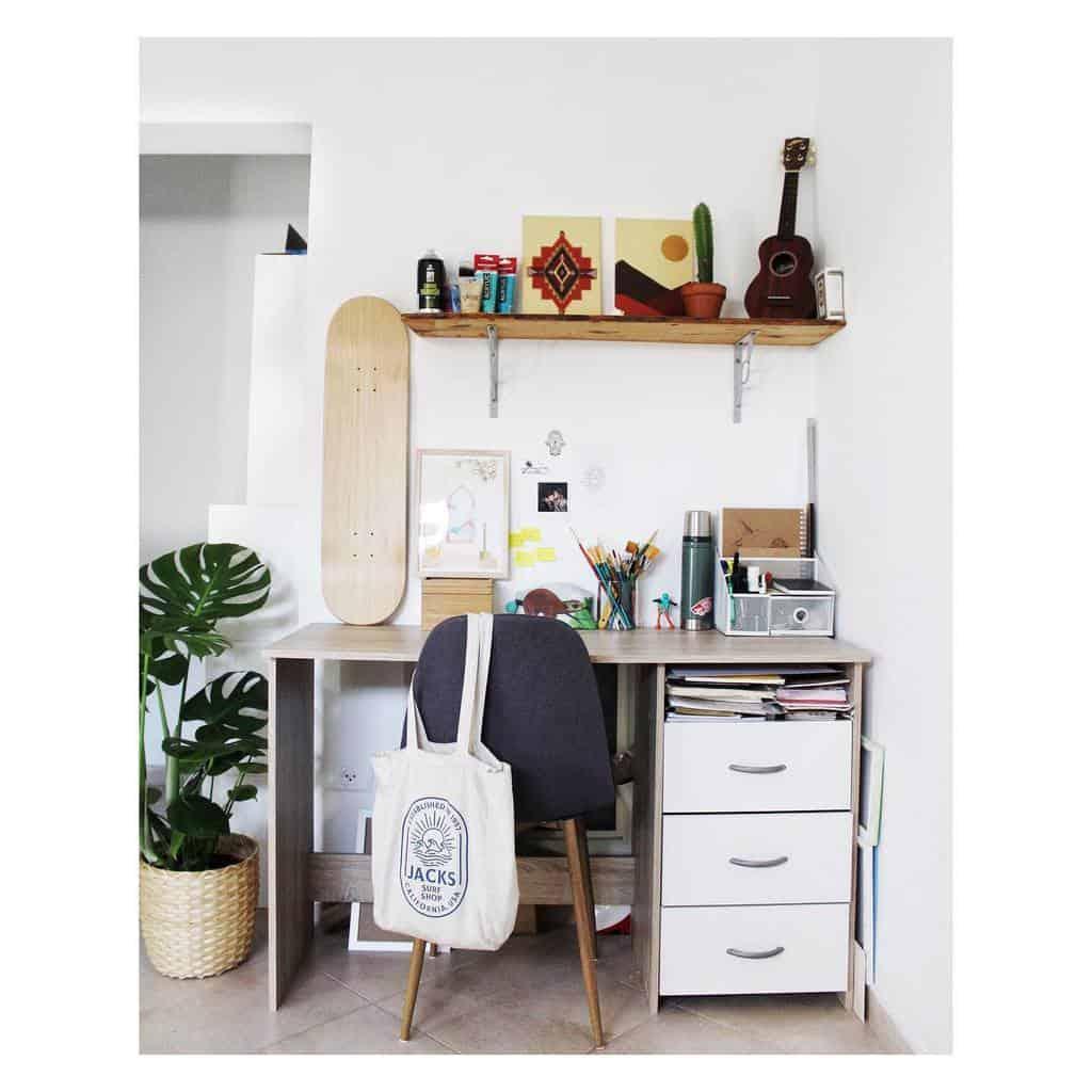 Desk Art Studio Ideas -no.ita