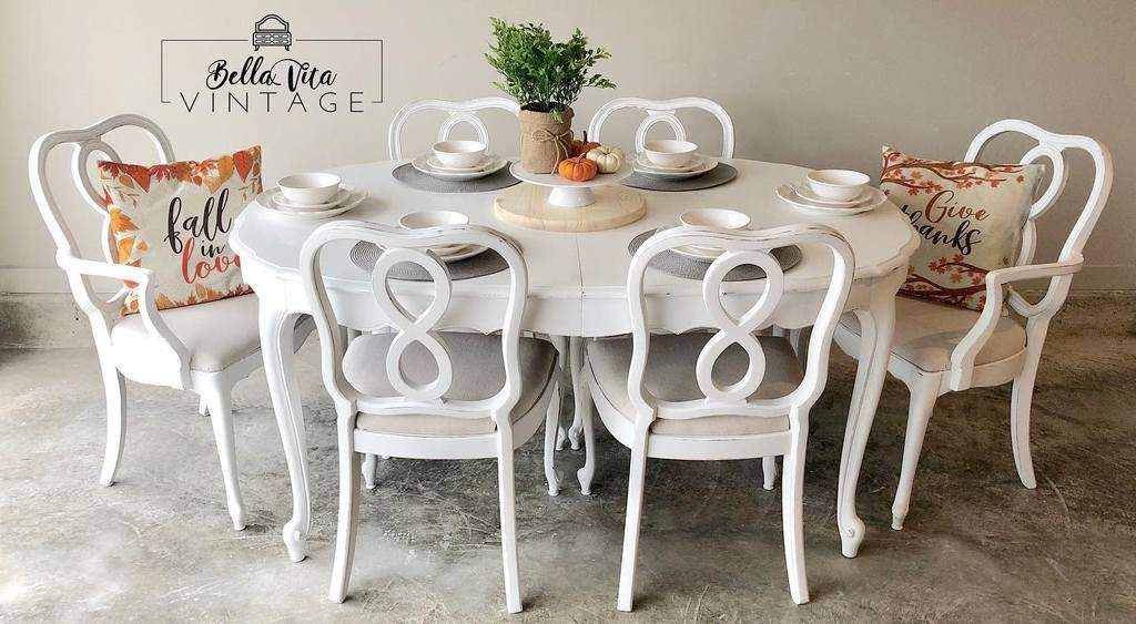 Farmhouse Chalk Paint Furniture Ideas -bellavintagedecor