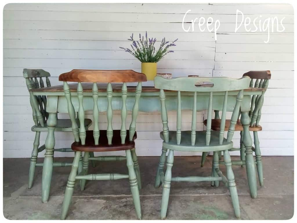 Farmhouse Chalk Paint Furniture Ideas -twitch_ankou