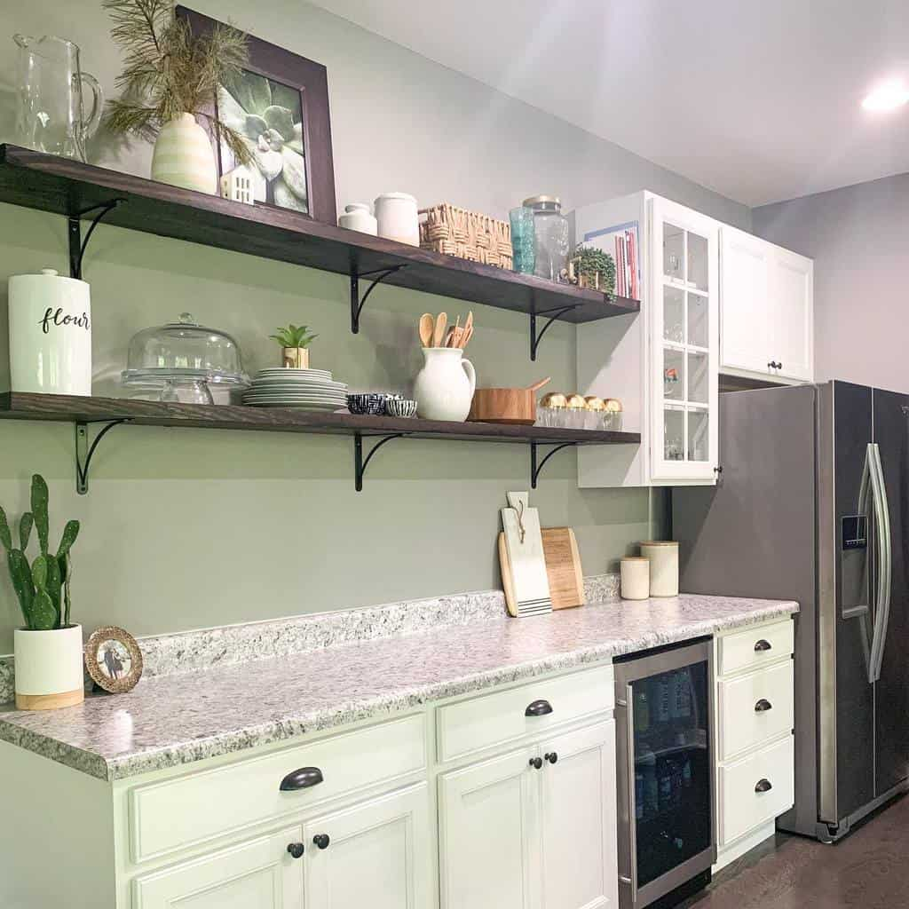 Floating Kitchen Shelf Ideas -be_kind_and_design