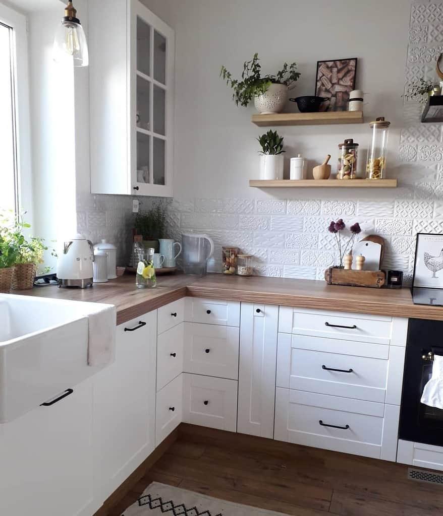 Floating Kitchen Shelf Ideas -dogonicwlasnemarzenia