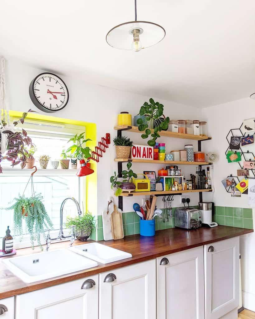 Floating Kitchen Shelf Ideas -dorabeehome