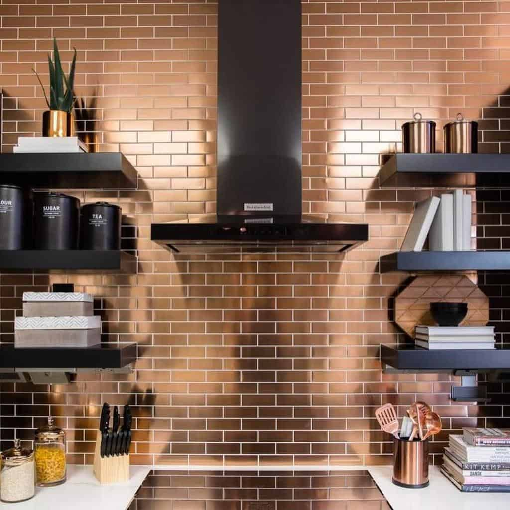 Floating Kitchen Shelf Ideas -one.tripledecor