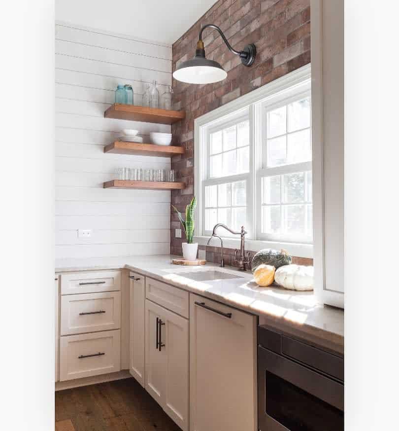 Floating Kitchen Shelf Ideas -theprettyperchdesignhouse