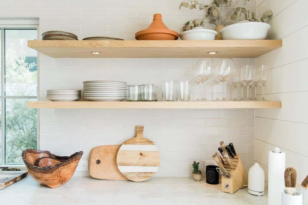 Floating Kitchen Shelf Ideas -tru.studio_