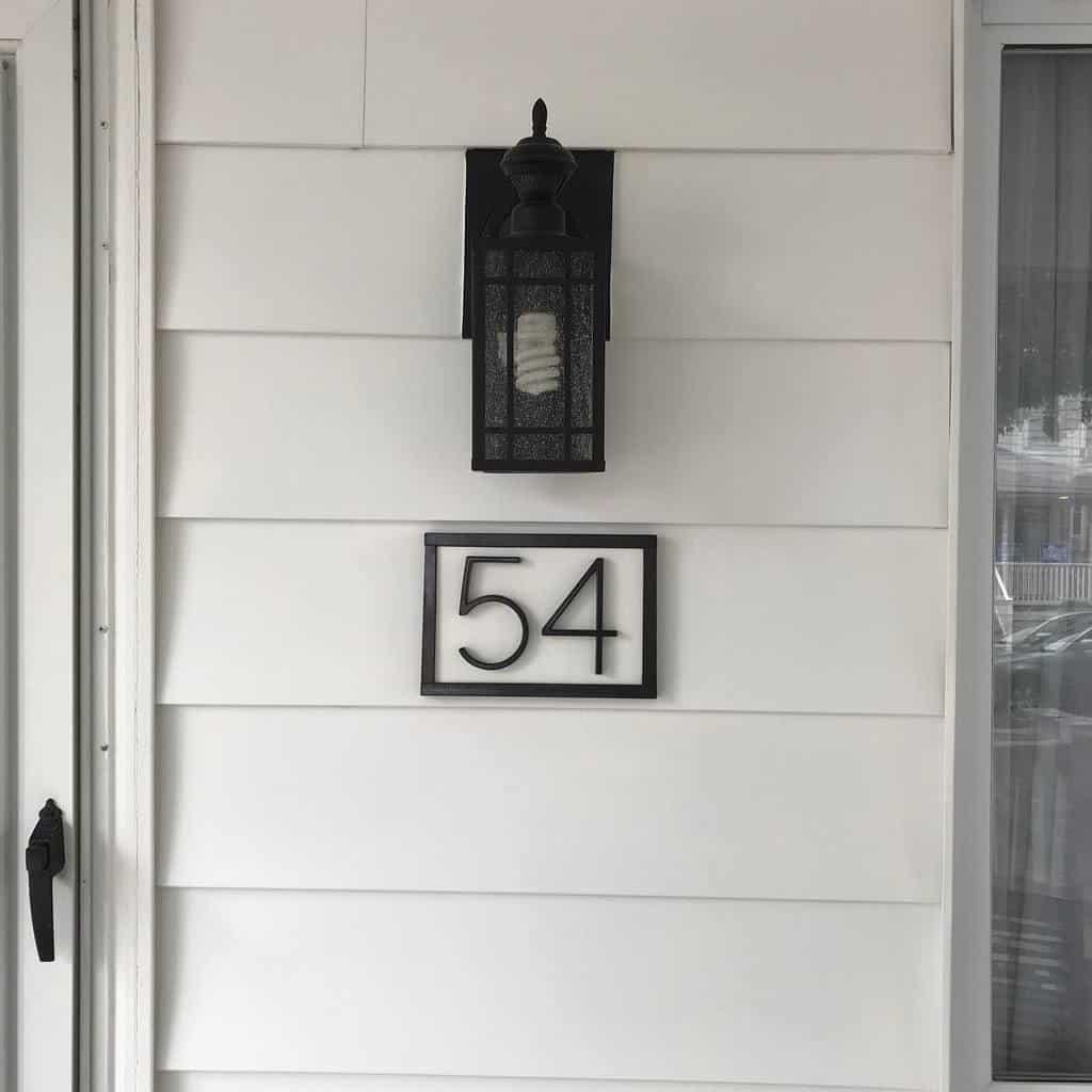 Front Door House Number Ideas -cmar308
