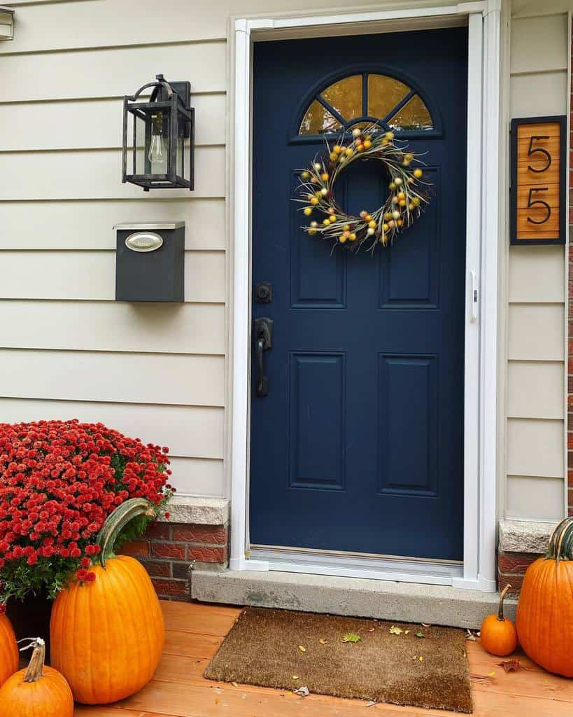 Front Door House Number Ideas -towercocarpentry