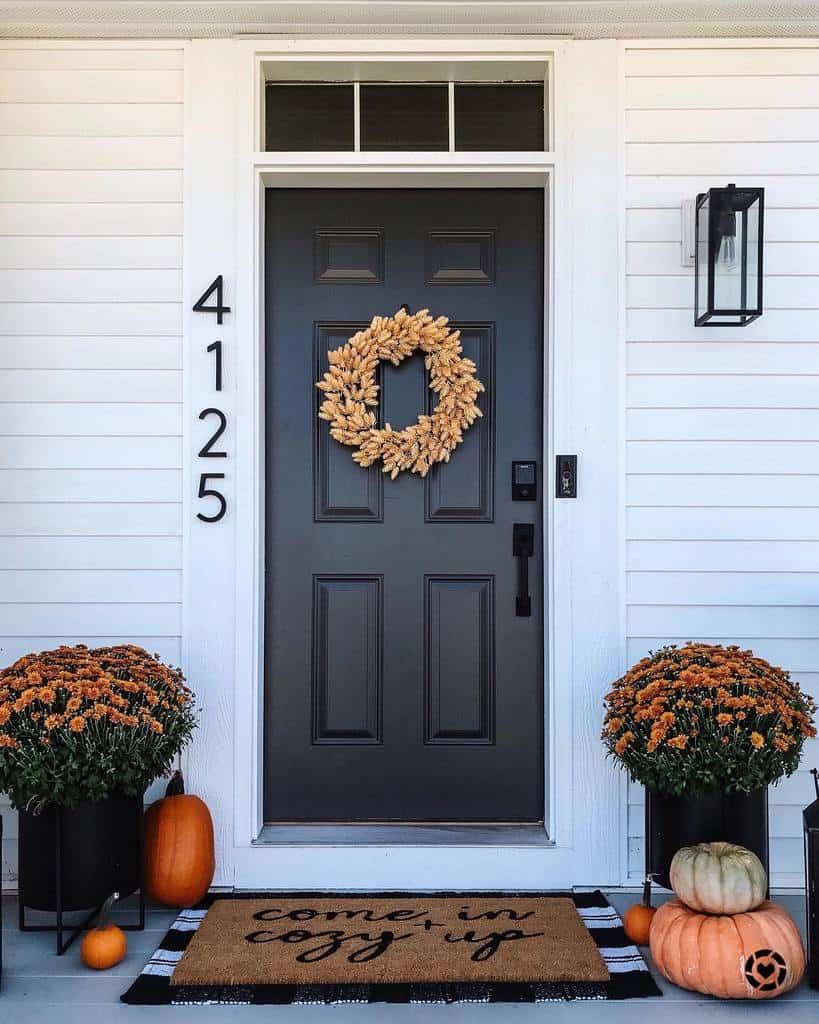 Front Door House Number Ideas -whitehouseinsuburbia