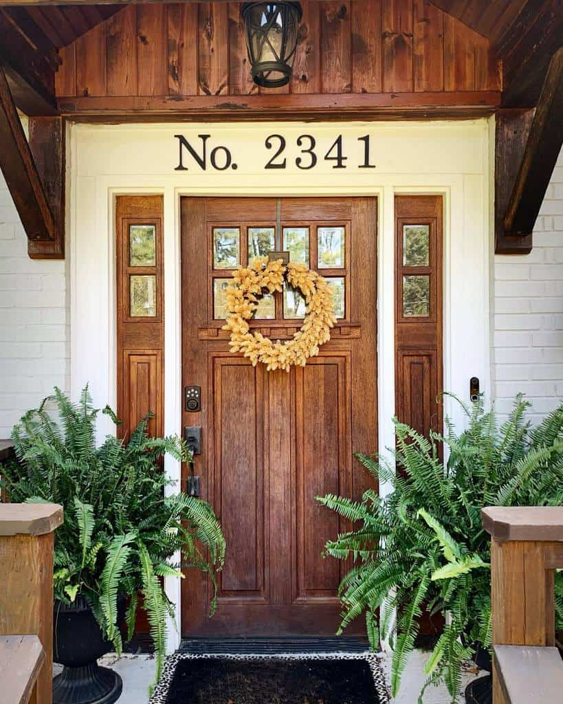 Front Door House Number Ideas -wilsoncrafted