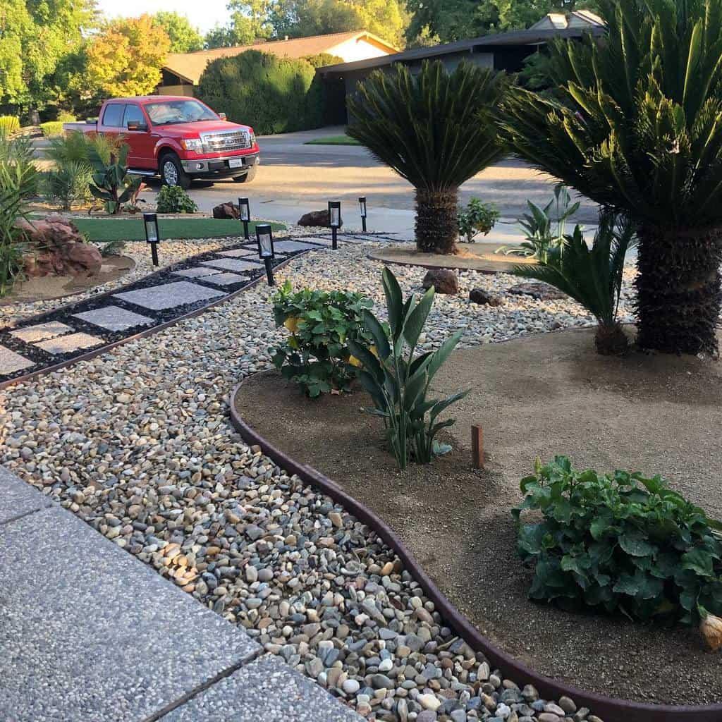 Frontyard Xeriscape Ideas -living_elements_landscape