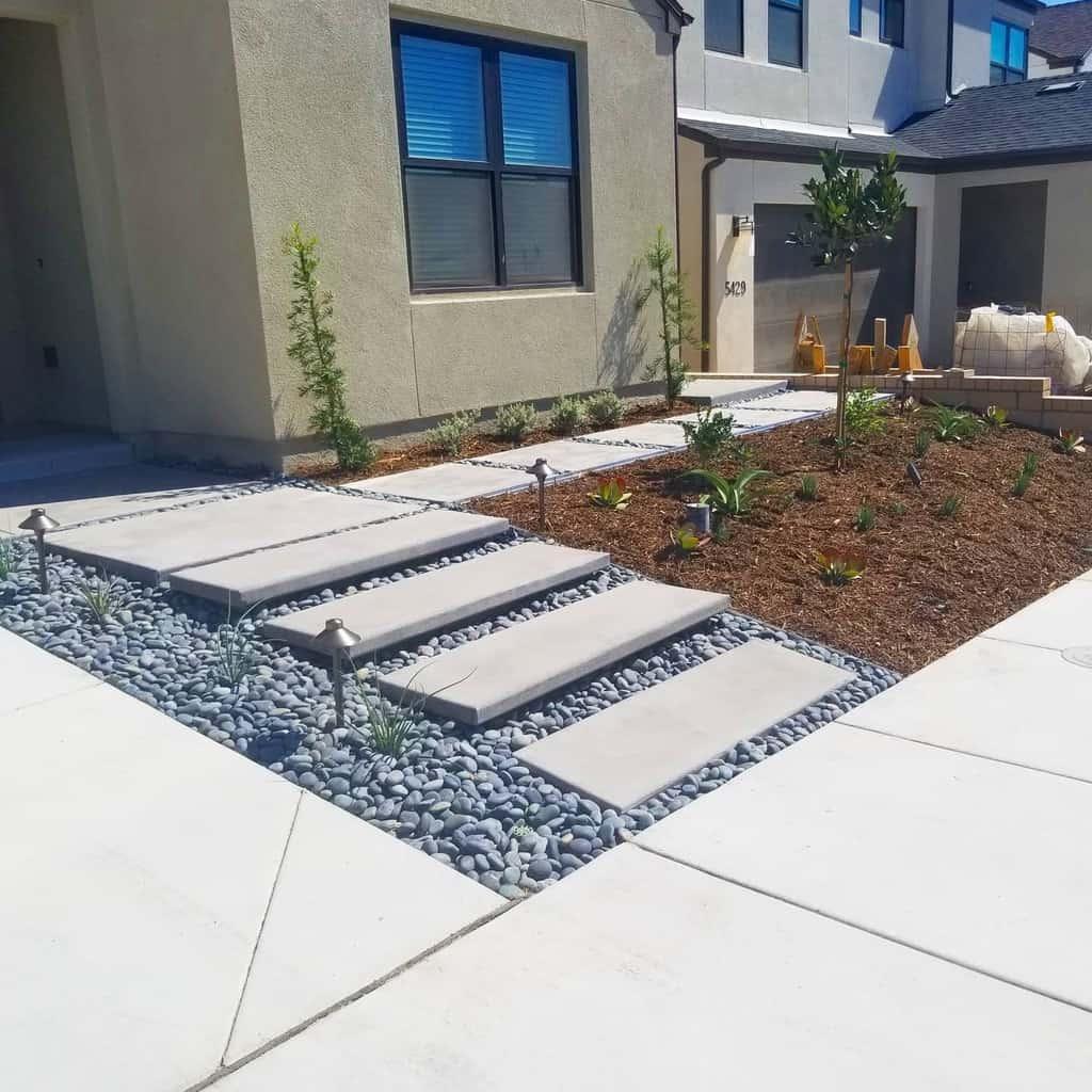 Frontyard Xeriscape Ideas -sandiegoxscape