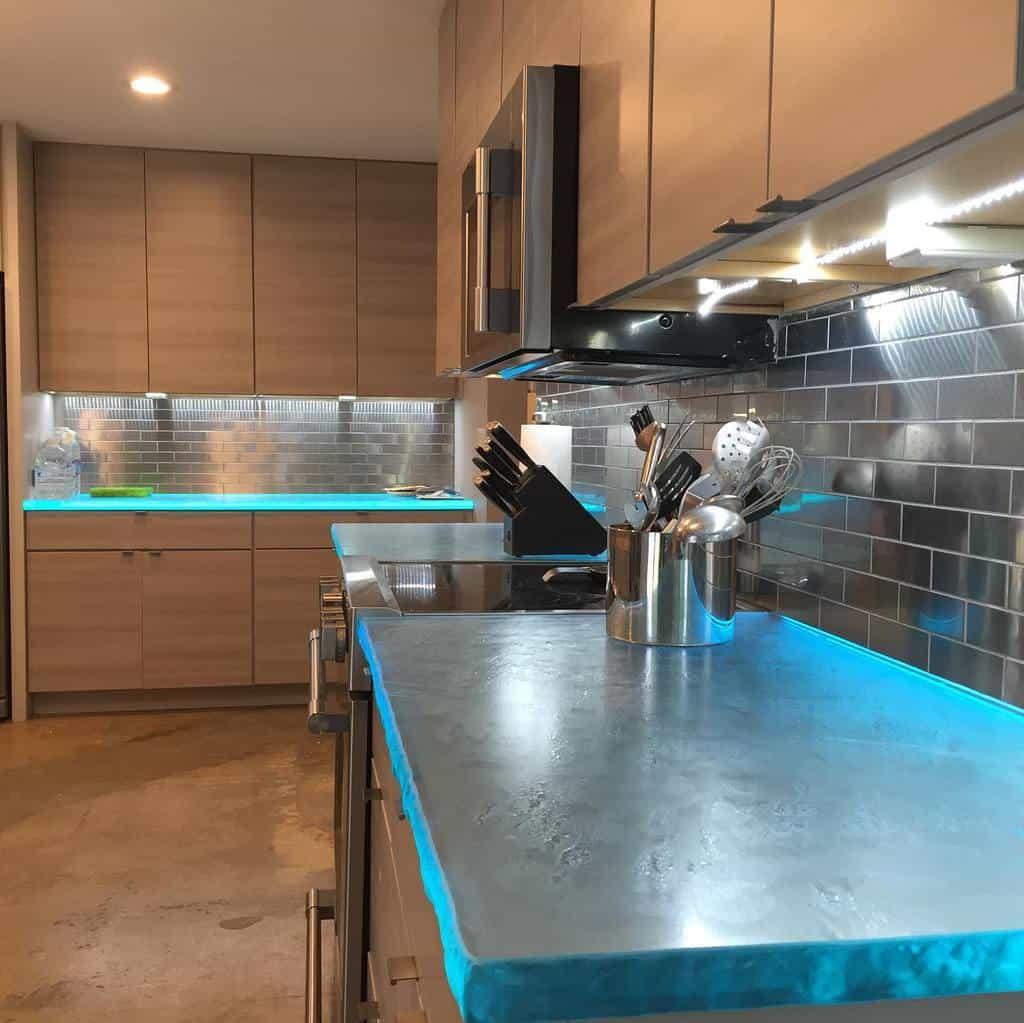 Glass Countertop Ideas -prorenovationsllc