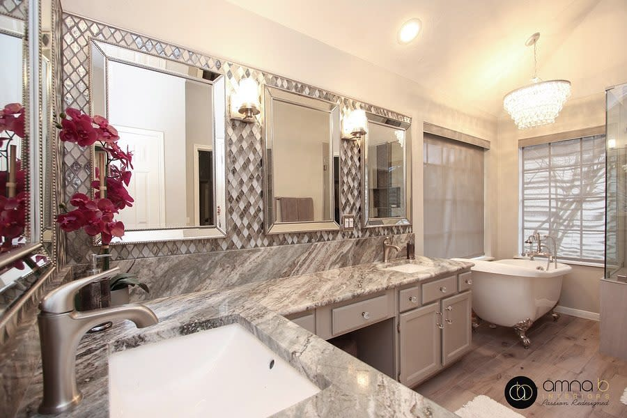 Granite Countertop Ideas -amna_b_interiors