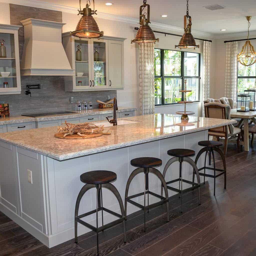 Granite Countertop Ideas -thedesignclub