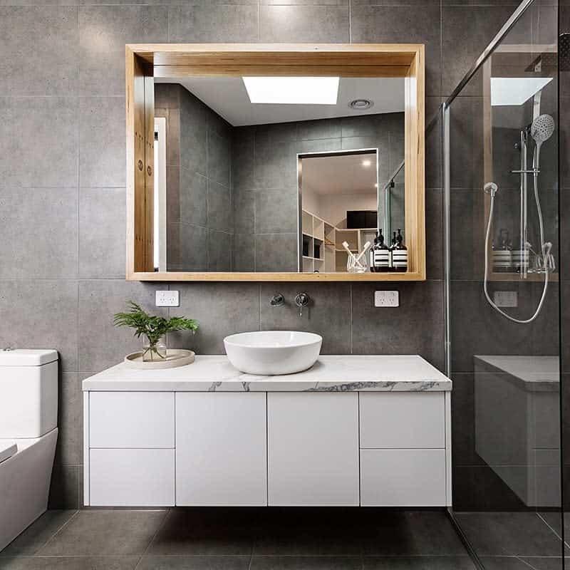 Grey Wet Room Ideas -basementbuilderuk