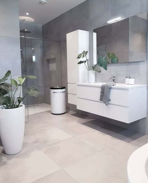 Grey Wet Room Ideas -bathroomplace