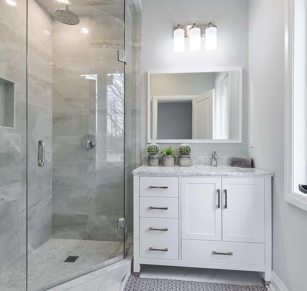 Grey Wet Room Ideas -dimatteodesigns