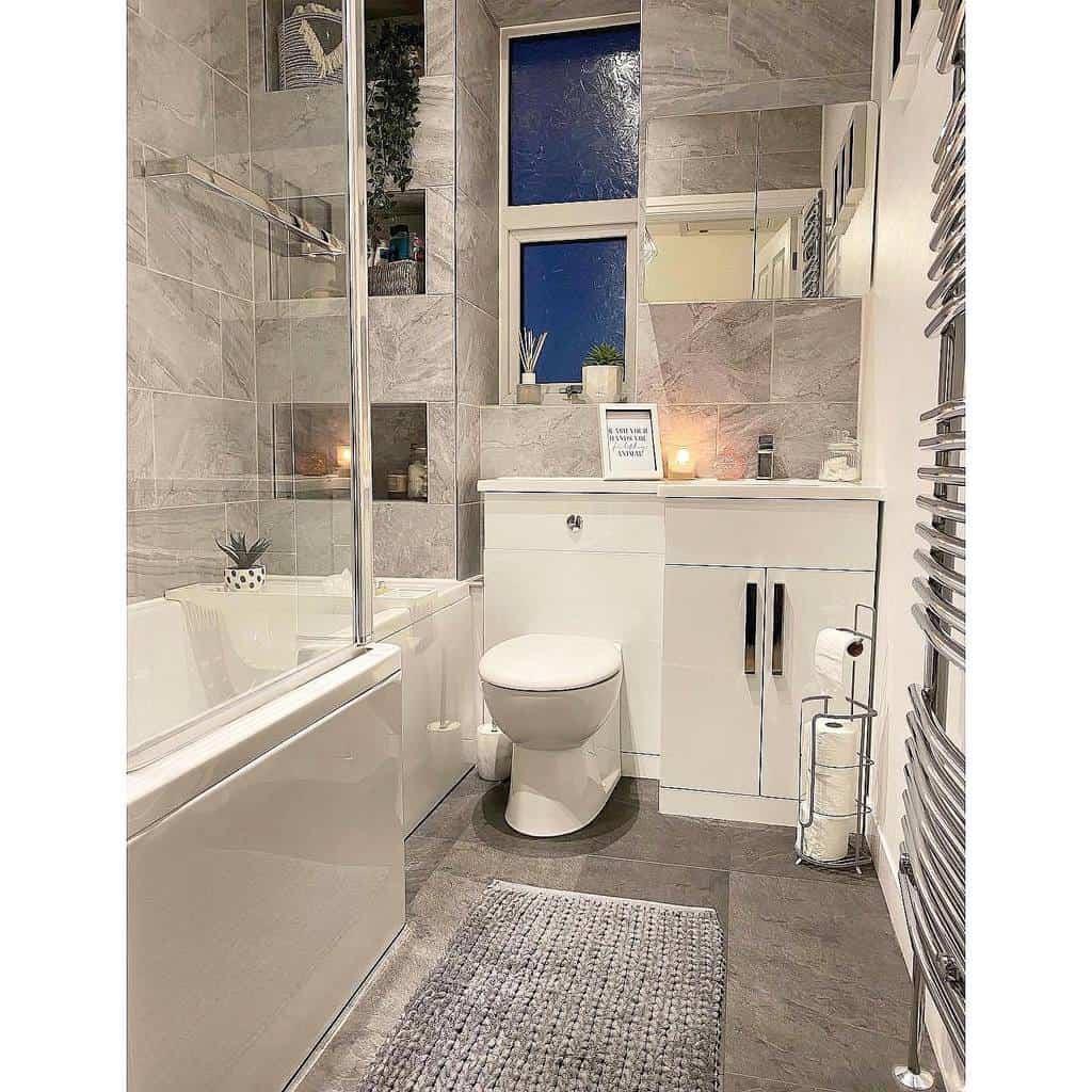 Grey Wet Room Ideas -number.fortyfive